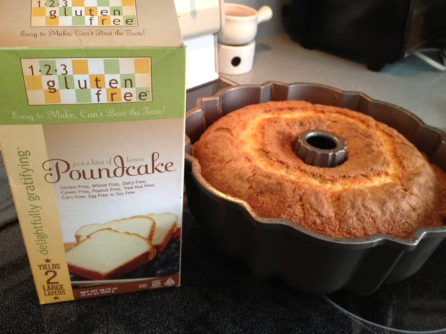 123 Gluten Free Poundcake Review