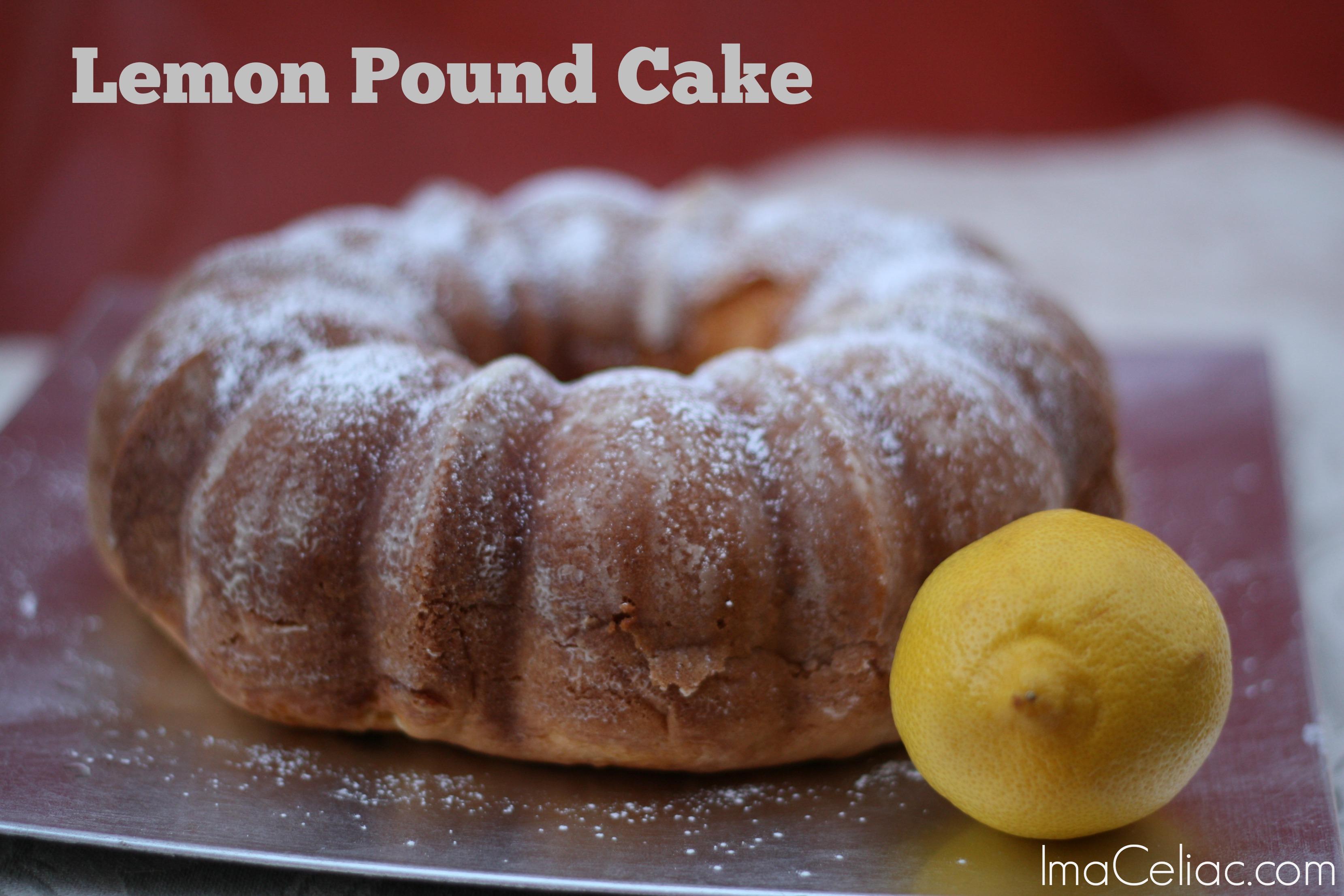 Gluten Free Lemon Pound Cake - Vetwill.com