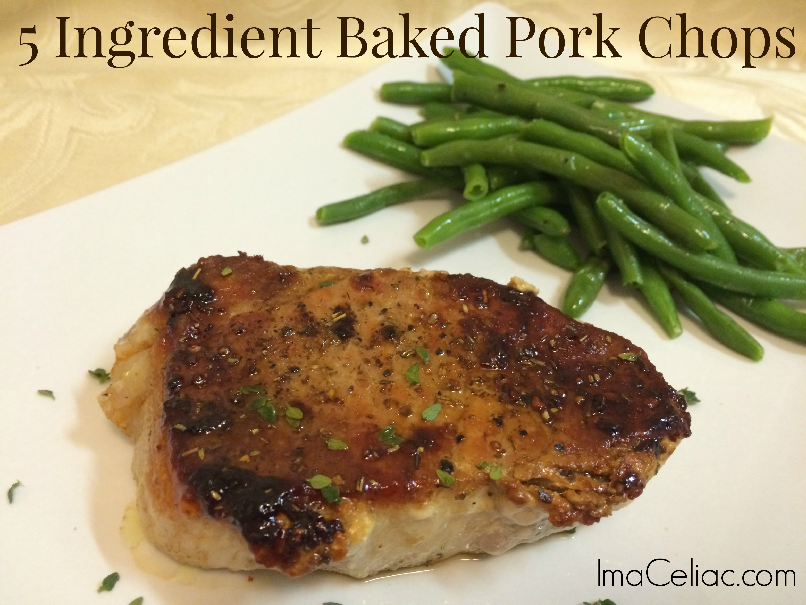 Use These 5 Ingredients To Make Gluten Free Baked Pork Chops That Will Wow